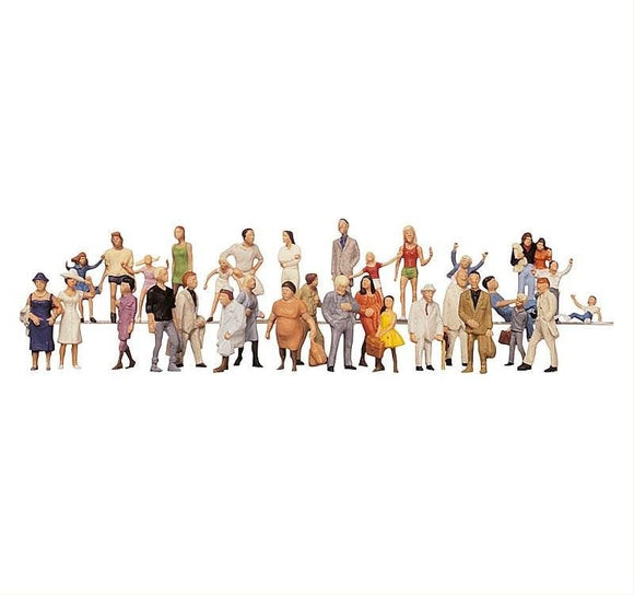 Faller 153003 00/H0 Fairground Visitors Model Railway Figure Set - SGS Model Store