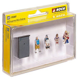 Noch 15560 H0 Scale Toilet Stories Model Railways Figures - SGS Model Store