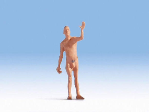 Noch 1584301 00/H0 Herbert the Nude Bather Model Railway Figure
