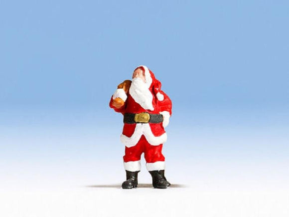 Noch 1592002 00/H0 Santa Claus with Sack Model Railway Figure