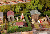 Faller 180494 H0 Allotments With Sheds Model Railway Accessories - SGS Model Store