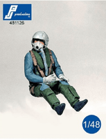 PJ Production 481126 1/48 German F-4 pilot seated in a/c Resin Figure - SGS Model Store