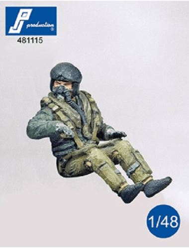 PJ Production 481115 1/48 Modern RAF pilot seated in aircraft Resin Figure - SGS Model Store