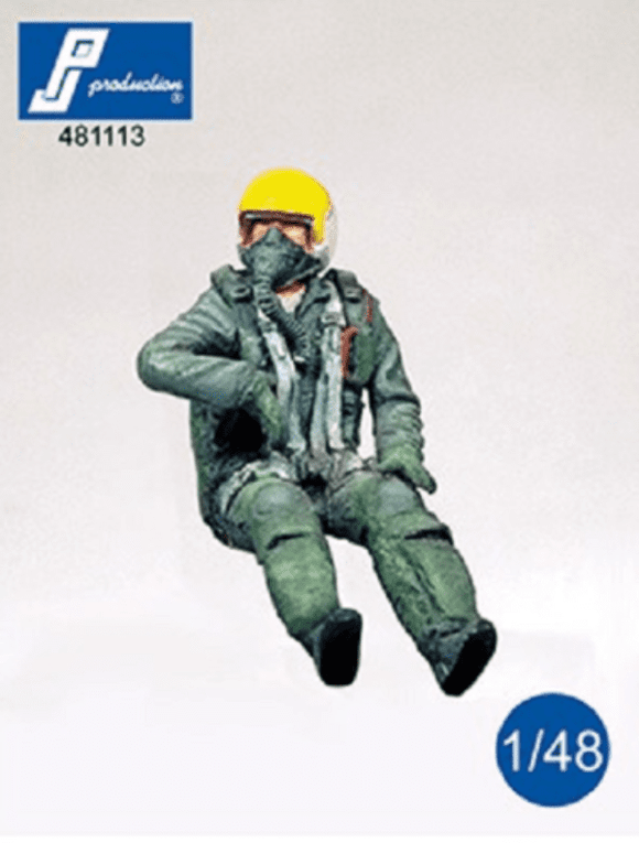 PJ Production 481113 1/48 F-104 pilot seated in aircraft Resin Figure - SGS Model Store