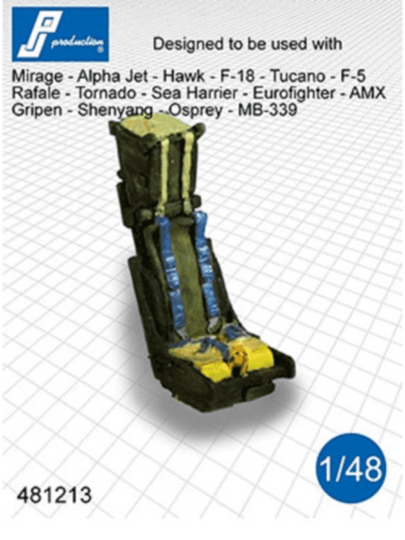 PJ Production 481213 1/48 Martin-Baker Mk.10 Resin Ejection Seat - SGS Model Store