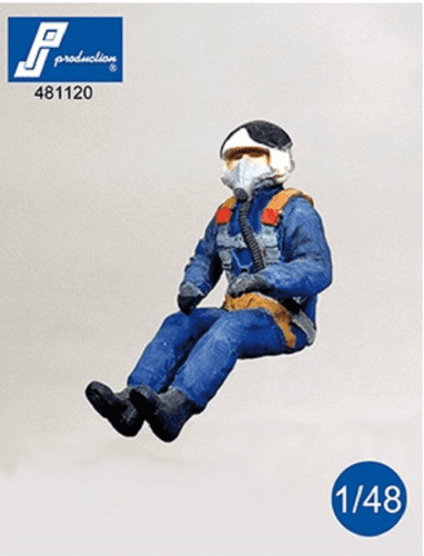 PJ Production 481120 1/48 Russian (Post WWII) pilot seated Resin Figure - SGS Model Store