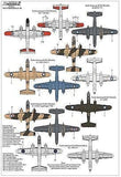 Xtradecal X72273 1/72 North-American B-25C Mitchell Collection Model Decals