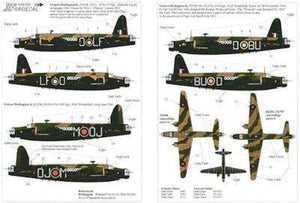 Xtradecal X48055 1/48 Vickers Wellington Mk.IC Model Decals - SGS Model Store