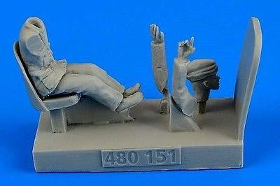 Aerobonus 480 151 1/48 WWII RAF Driver for Bedford MWD Resin Figure - SGS Model Store