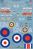 Xtradecal X32060 1/32 BAe Eurofighter Typhoon FGR.4 Pt2 Model Decals - SGS Model Store