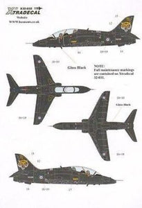 Xtradecal X32032 1/32 BAe Hawk T.1A Model Decals - SGS Model Store