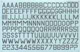 "Xtradecal X48022 1/48 Medium Sea Grey RAF 24"" and 30"" Code Letters and Numbers - SGS Model Store"