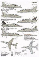 Xtradecal X32028 1/32 BAe Hawk T.1A All Over Grey Camos 1982-1996 Model Decals - SGS Model Store