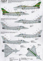 Xtradecal X32048 1/32 Eurofighter EC2000 Typhoon Model Decals - SGS Model Store
