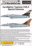 Xtradecal X32056 1/32 BAe Eurofighter Typhoon FGR.4 Model Decals - SGS Model Store