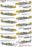 Xtradecal X72118 1/72 Battle of Britain 70th Anniversary Luftwaffe Model Decals - SGS Model Store