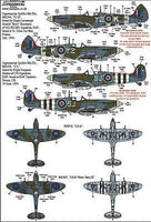 Xtradecal X48172 1/48 Supermarine Spitfire Mk.IX Collection Model Decals - SGS Model Store