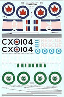 Xtradecal X72062 1/72 Post War Avro Lancasters Part 2 Model Decals - SGS Model Store
