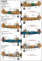 Xtradecal X72258 1/72 Boeing Stearman Kaydet Model Decals - SGS Model Store