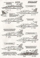Xtradecal X72031 1/72 BAe Hawk T.1/T.1A Model Decals - SGS Model Store