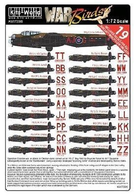 Kits-World KW172095 1/72 70th Dambusters Anniversary Model Decals - SGS Model Store