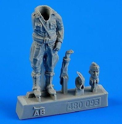 Aerobonus 480 093 1/48 WWII German Luftwaffe pilot Resin Figure - SGS Model Store