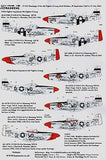 Xtradecal X72099 1/72 P-51D Mustang's from the 4th FG Model Decals - SGS Model Store