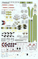 Xtradecal X48056 1/48 Panavia Tornado Up Date 2006 Model Decals - SGS Model Store