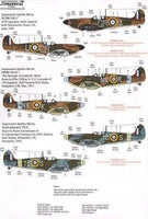 Xtradecal X32053 1/32 Supermarine Spitfire Mk.I/Mk.IIa Pt 1 Model Decals - SGS Model Store