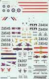 Xtradecal X72013 1/72 Panavia Tornado Update 1989 Model Decals - SGS Model Store
