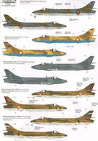 Xtradecal X72214 1/72 International Hawker Hunters Model Decals - SGS Model Store