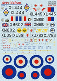Print Scale 72-256 1/72 Avro Vulcan Part 2 Model Decals - SGS Model Store