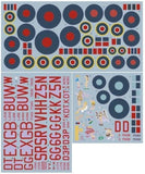 DK Decals 72016 1/72 No.100 Group RAF Model Decals - SGS Model Store