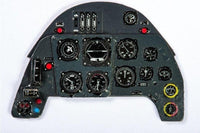 Yahu Models YMA3203 1/32 Messerschmitt Bf 109G Instrument Panel for Revell - SGS Model Store
