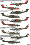 Kits-World KW172141 1/72 North American Rockwell OV-10 Bronco Model Decals - SGS Model Store