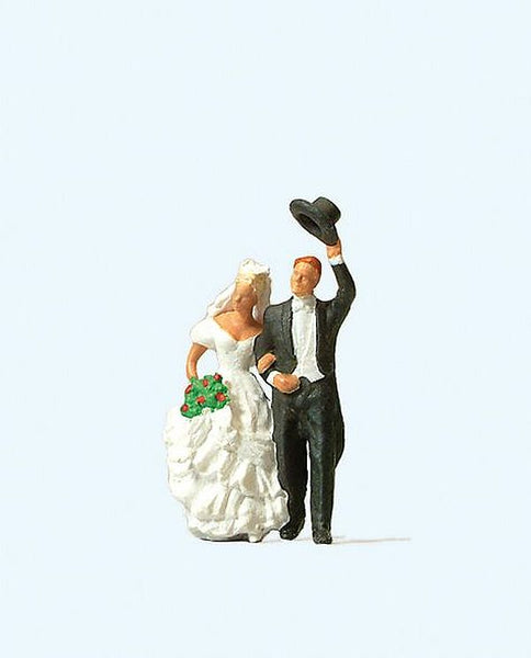 Preiser 28091 00/H0 Wedding Couple Model Railway Figure - SGS Model Store