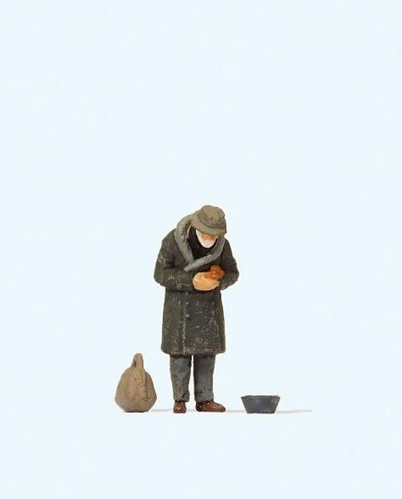 Preiser 28102 00/H0 Beggar Model Railway Figure - SGS Model Store
