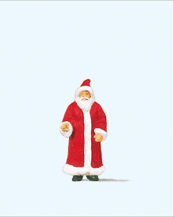 Preiser 29029 00/H0 Santa Claus Model Railway Figure - SGS Model Store
