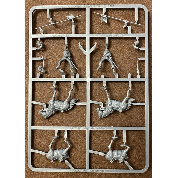 Warlord Games Black Powder 28mm Napoleonic French Line Lancers Sprue