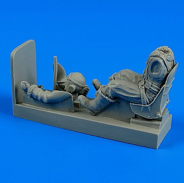 Aerobonus 320 059 1/32 R.A.F. pilot with seat for Supermarine Spitfire - SGS Model Store