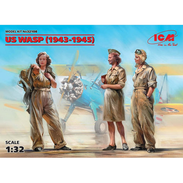 ICM 32108 1/32 US WASP (1943-1945) 3 Figures