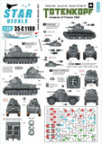 Star Decals 35-C1180 1/35 SS Totenkopf Invasion of France 1940 Model Decals - SGS Model Store