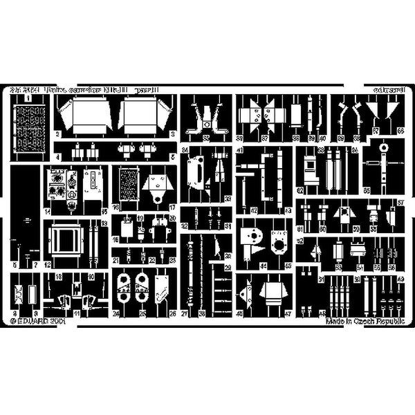 Eduard 35364 1/35 Bren Carrier Mk.II Photo Etched Set for Tamiya
