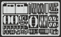 Eduard 35498 1/35 Pz.Kpfw.VI Tiger I Ausf.E exterior Photo Etched Set for Academy - SGS Model Store