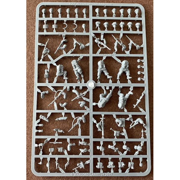 Warlord Games Bolt Action British Airborne 28mm Scale Sprue