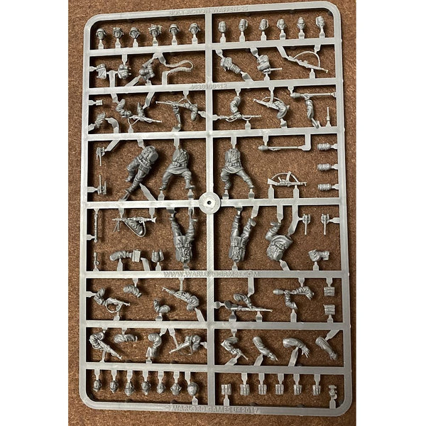 Warlord Games Bolt Action Waffen-SS 28mm Scale Sprue