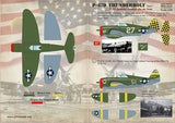Print Scale 48-077 1/48 Republic P-47D Thunderbolt Part 1 Model Decals - SGS Model Store