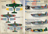 Print Scale 48-079 1/48 Morane-Saulnier MS.406 Model Decals - SGS Model Store