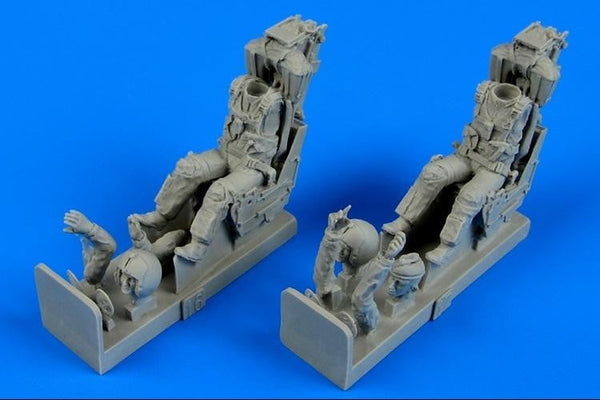 Aerobonus 480 070 1/48 Phantom US Navy pilot & operator Resin Figures - SGS Model Store