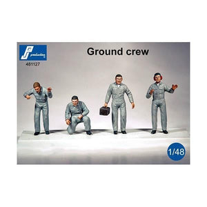 PJ Production 481127 1/48 Ground Crew Resin Figures - SGS Model Store